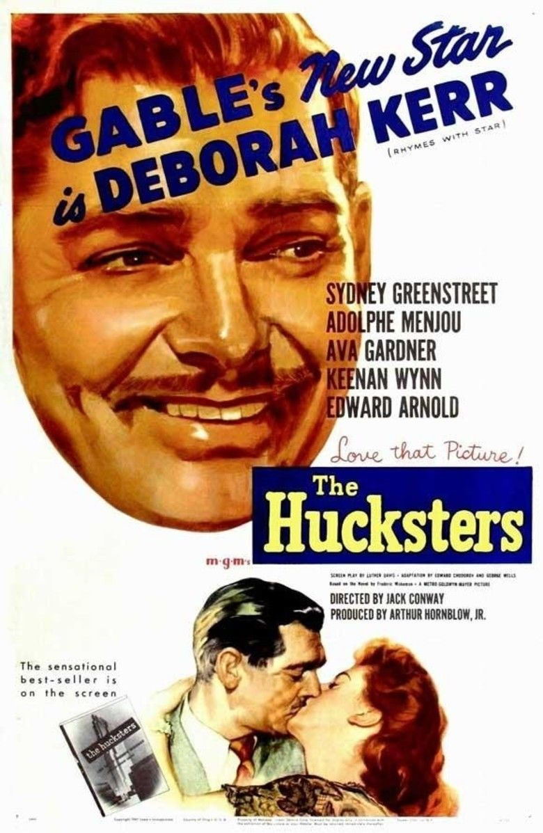 The Hucksters movie poster