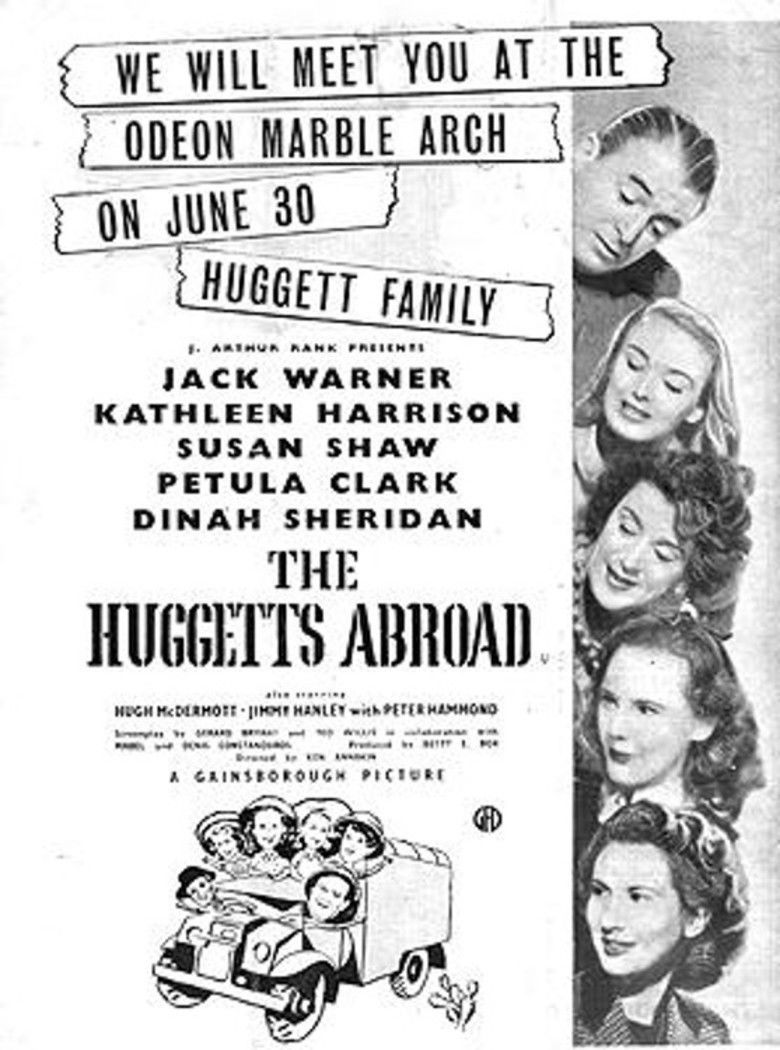 The Huggetts Abroad movie poster