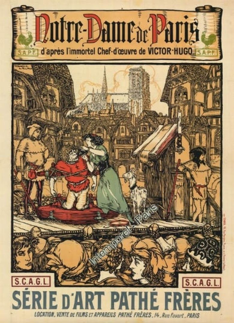 The Hunchback of Notre Dame (1911 film) movie poster