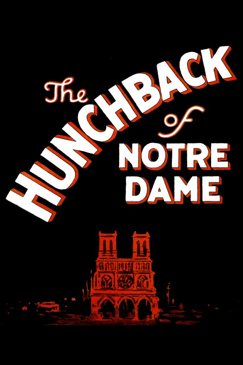 The Hunchback of Notre Dame (1923 film) movie poster