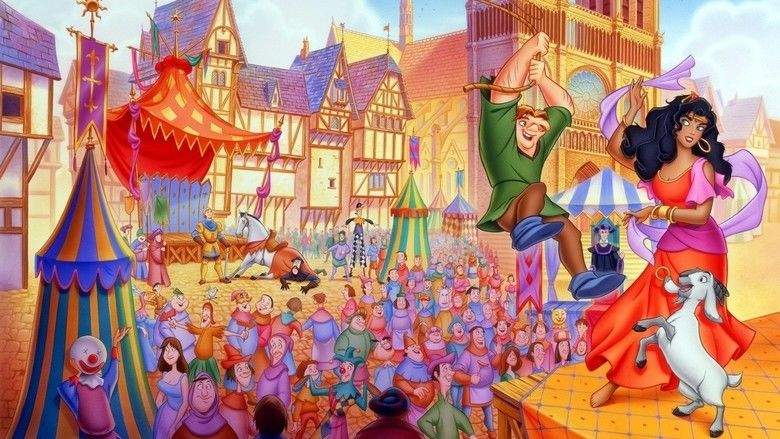 The Hunchback of Notre Dame (1996 film) movie scenes