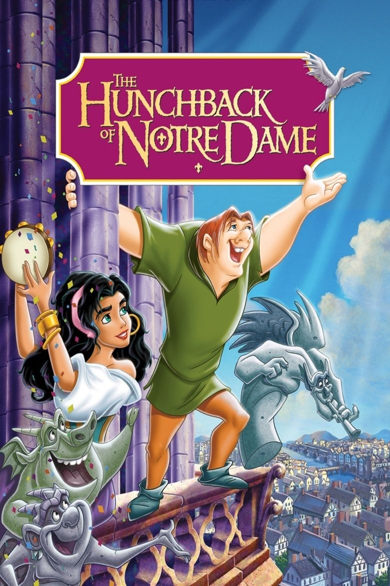 The Hunchback of Notre Dame (1996 film) movie poster