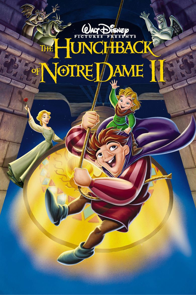 The Hunchback of Notre Dame II movie poster