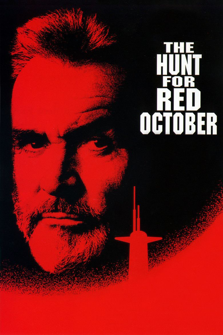 The Hunt for Red October (film) movie poster