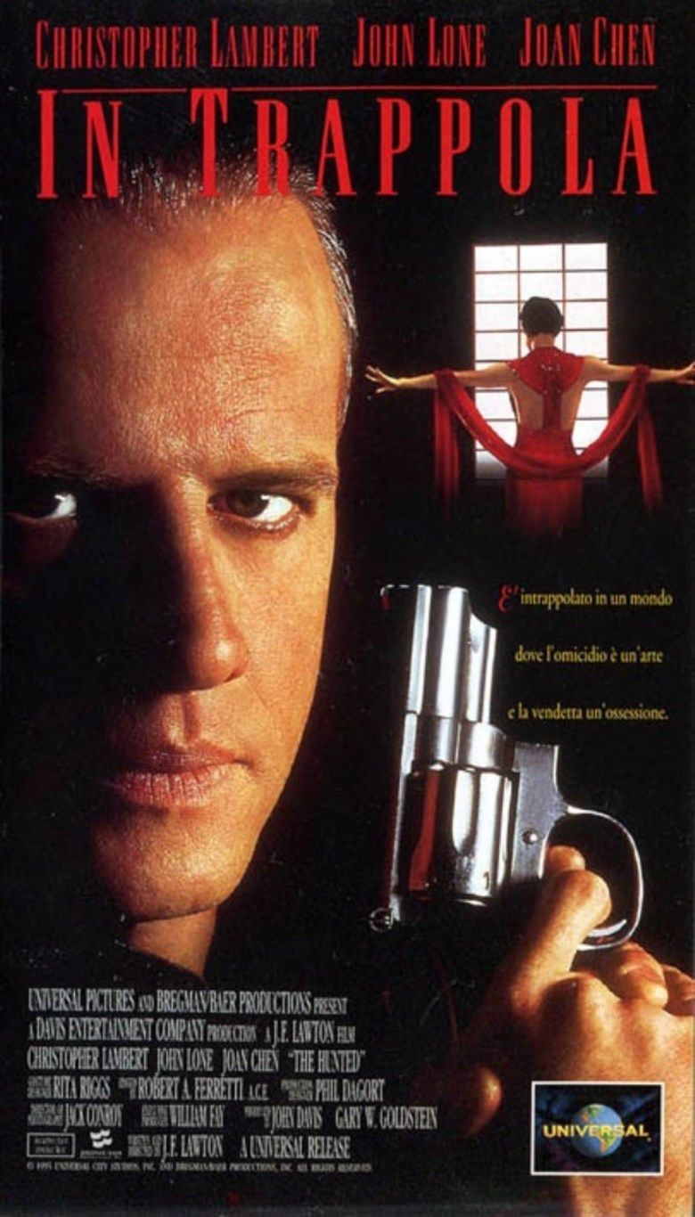 The Hunted (1995 film) movie poster
