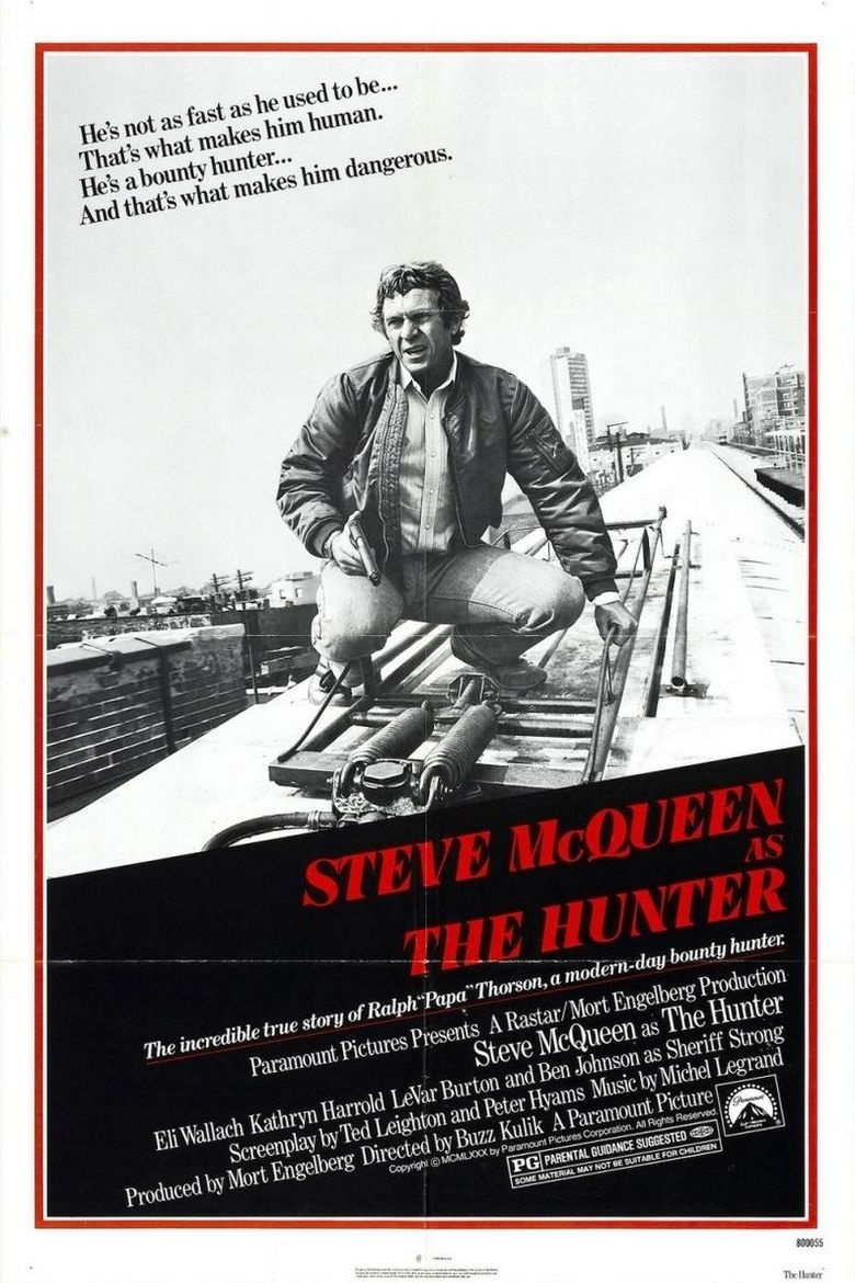 The Hunter (1980 film) movie poster