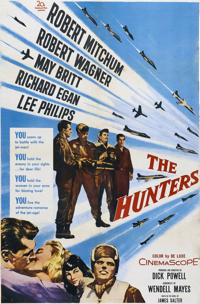 The Hunters (1958 film) movie poster