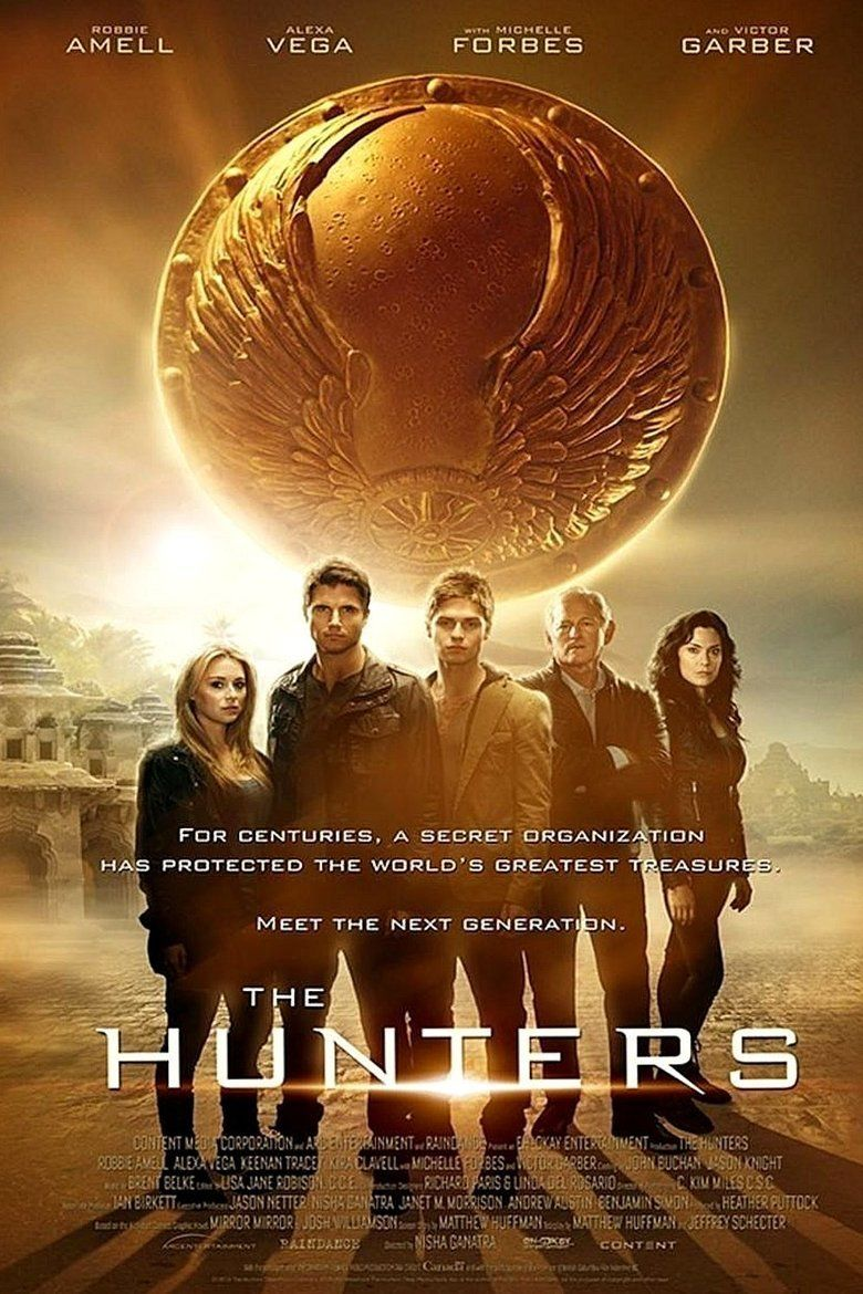The Hunters (2013 film) movie poster