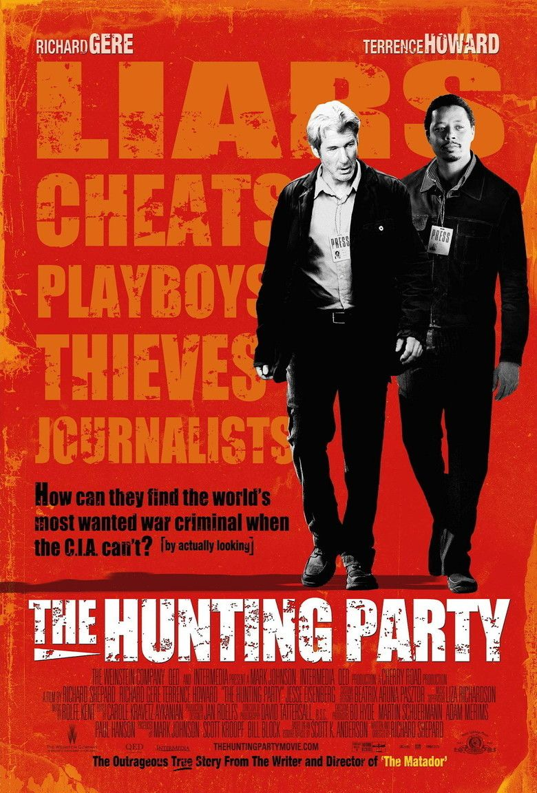 The Hunting Party (2007 film) movie poster