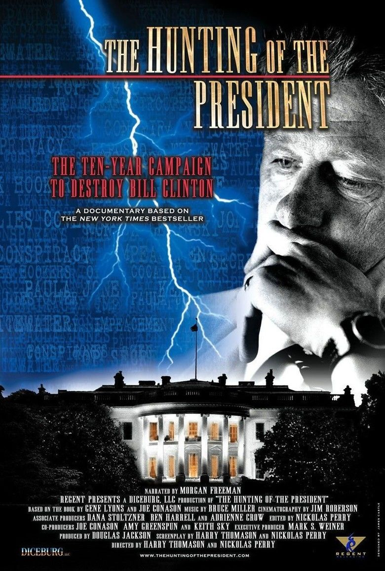 The Hunting of the President movie poster