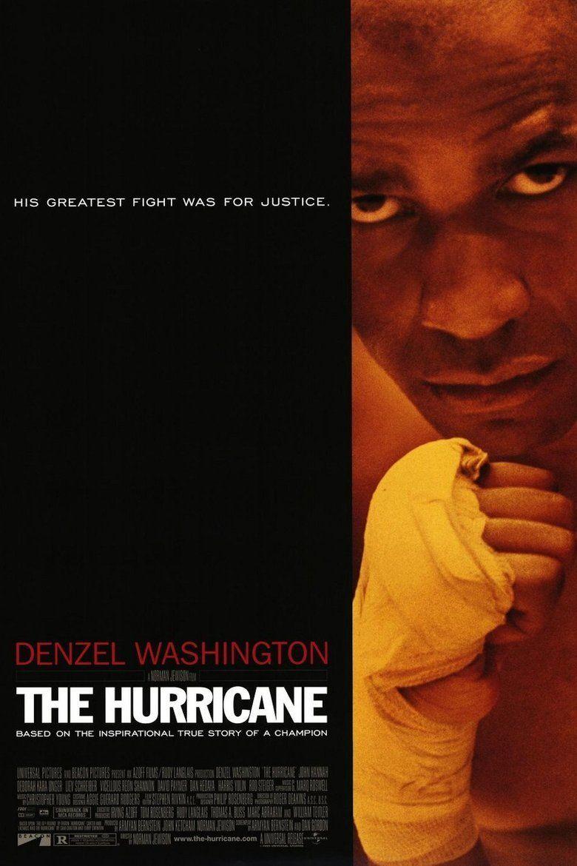 The Hurricane (1999 film) movie poster