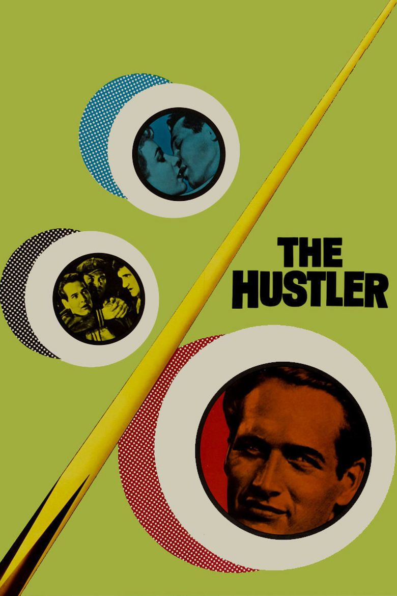 The Hustler (film) movie poster