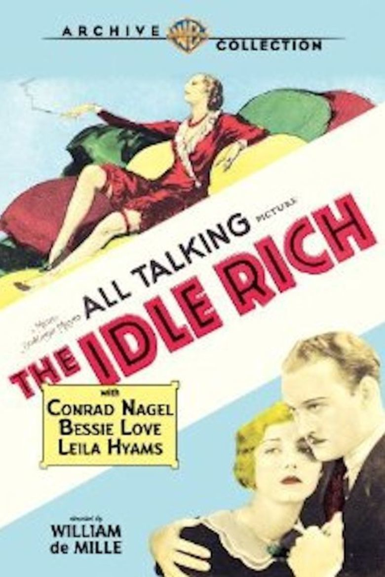 The Idle Rich movie poster