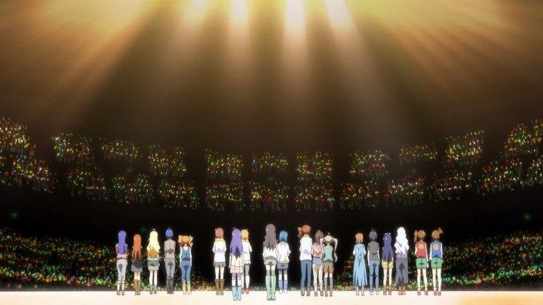 The Idolmaster Movie: Beyond the Brilliant Future! movie scenes