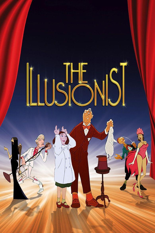 The Illusionist (2010 film) movie poster
