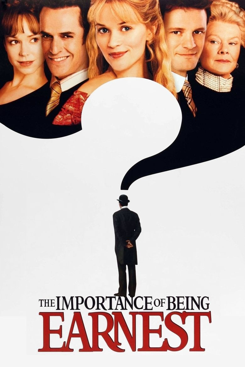 The Importance of Being Earnest (2002 film) movie poster