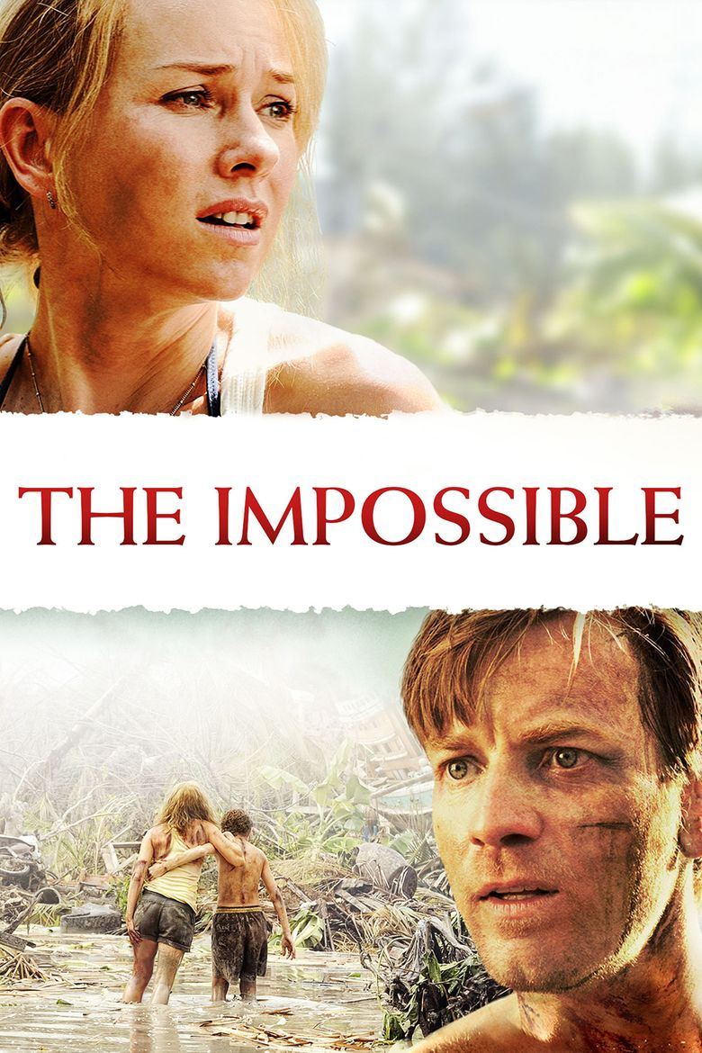 The Impossible (2012 film) movie poster