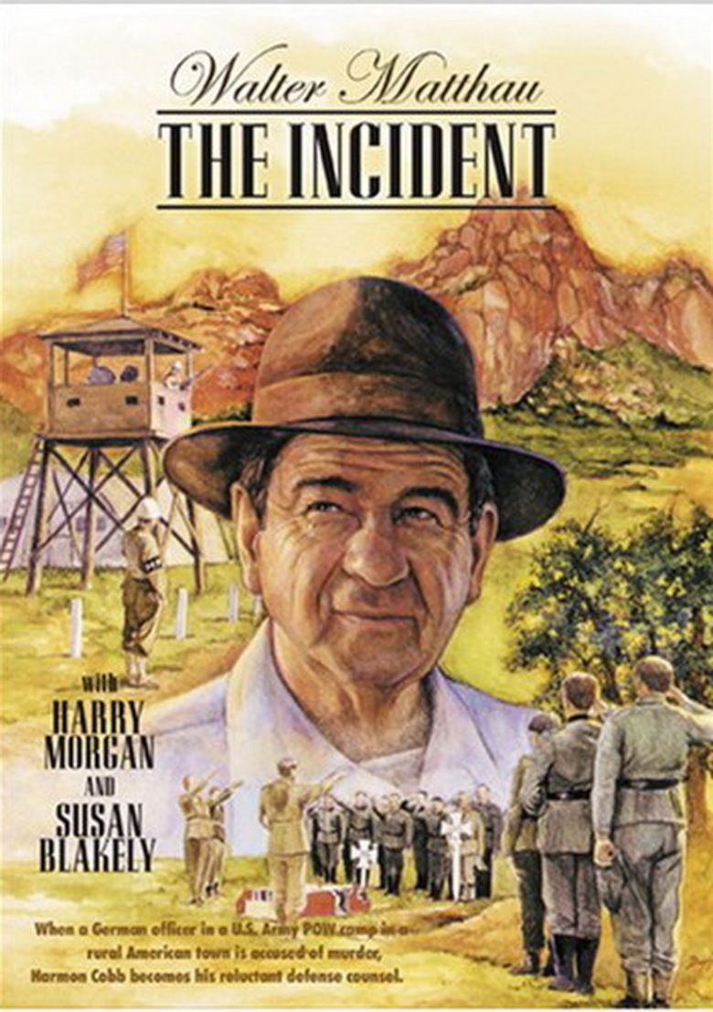 The Incident (1990 film) movie poster