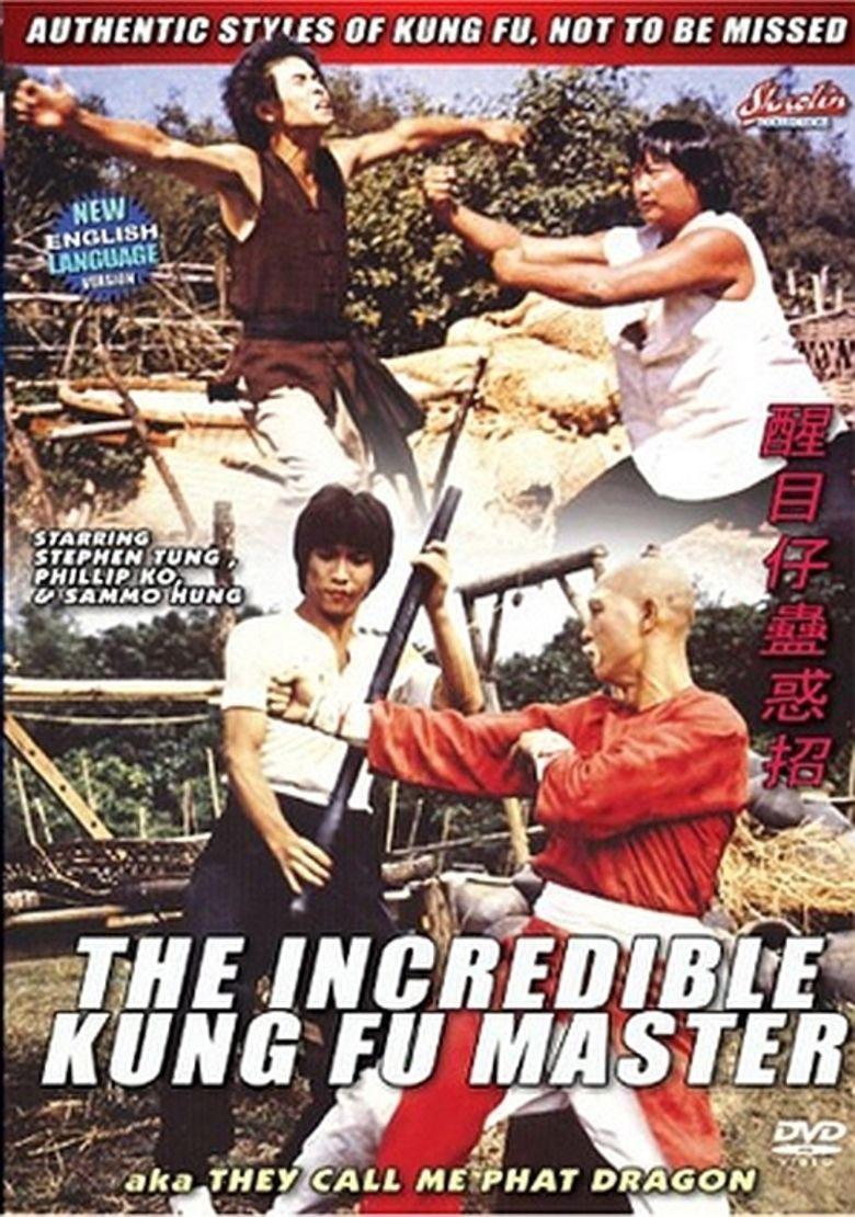 The Incredible Kung Fu Master movie poster