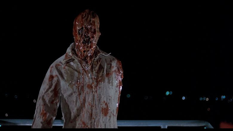 The Incredible Melting Man movie scenes