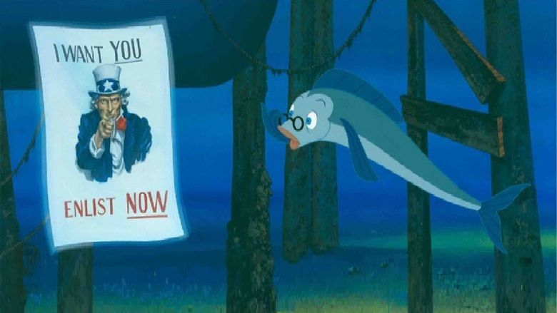 The Incredible Mr Limpet movie scenes