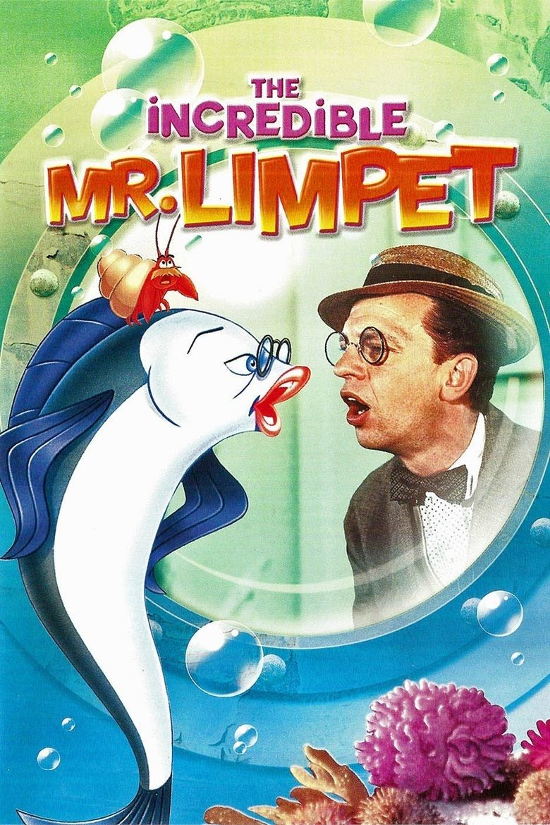 The Incredible Mr Limpet movie poster