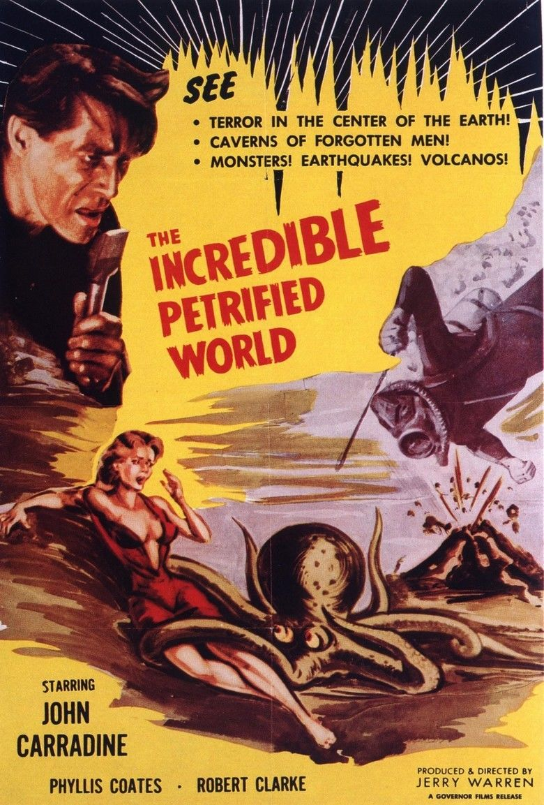 The Incredible Petrified World movie poster