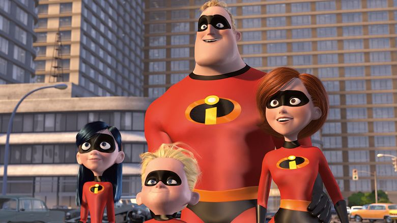 The Incredibles movie scenes