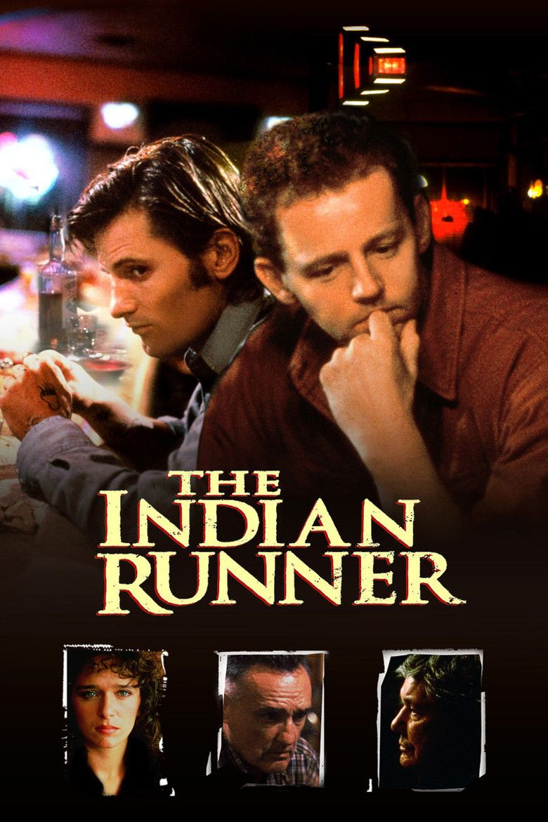 The Indian Runner movie poster