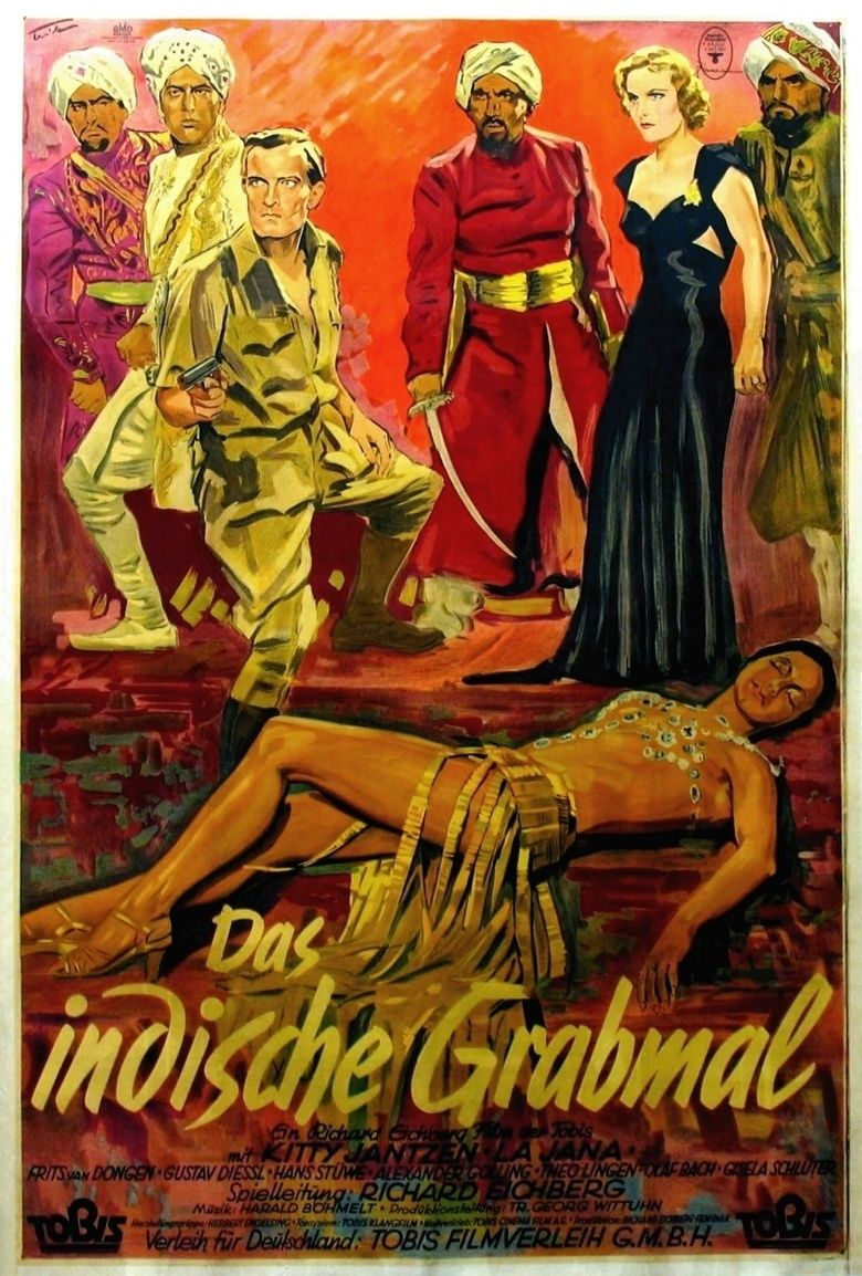 The Indian Tomb (1959 film) movie poster