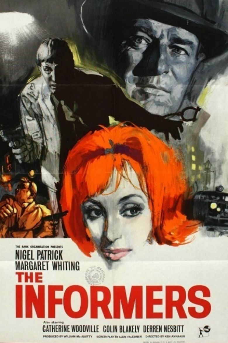 The Informers (1963 film) movie poster