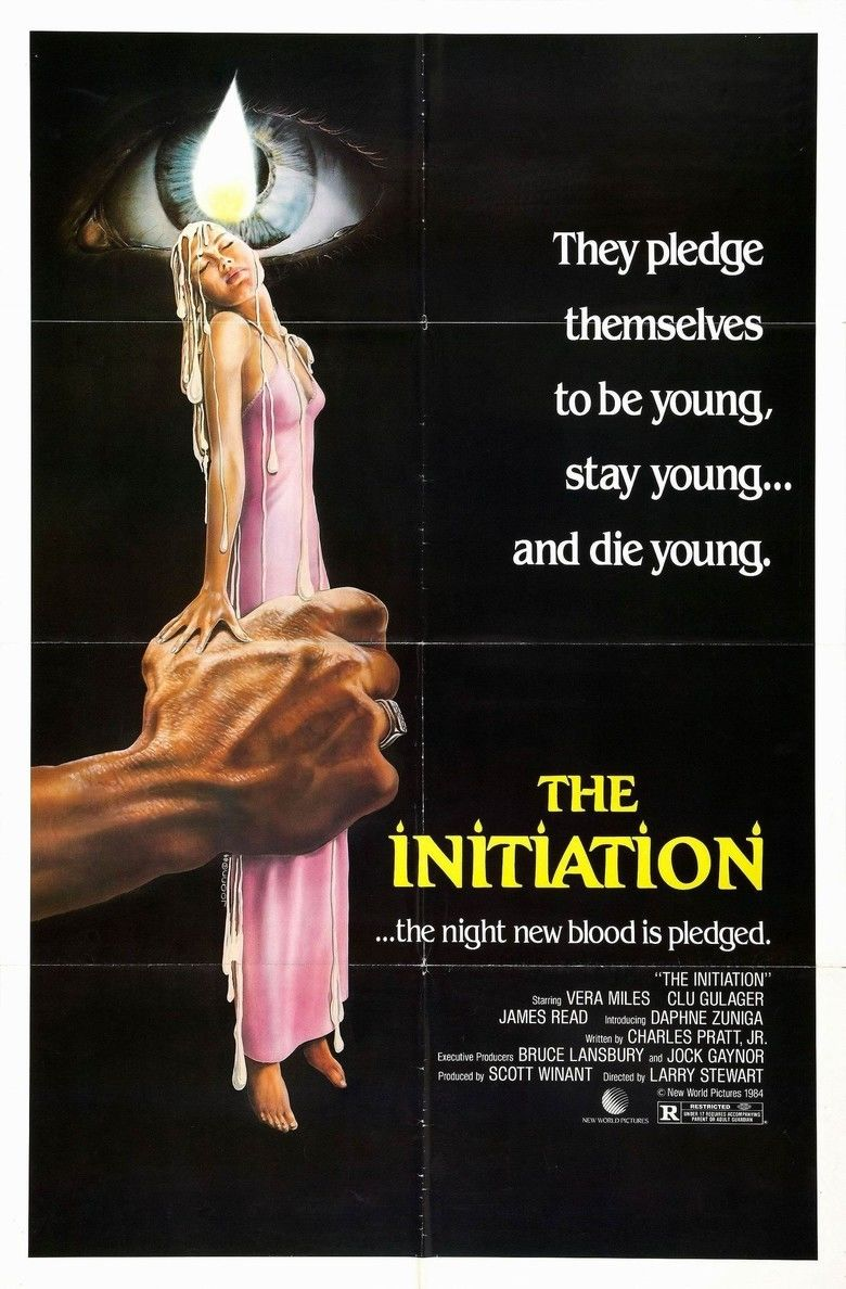 The Initiation (film) movie poster