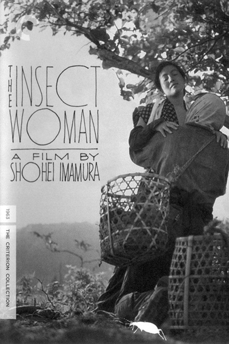 The Insect Woman movie poster