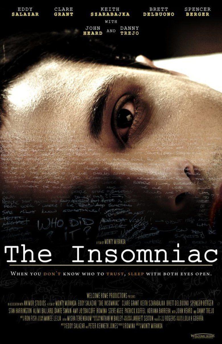 The Insomniac (2013 film) movie poster