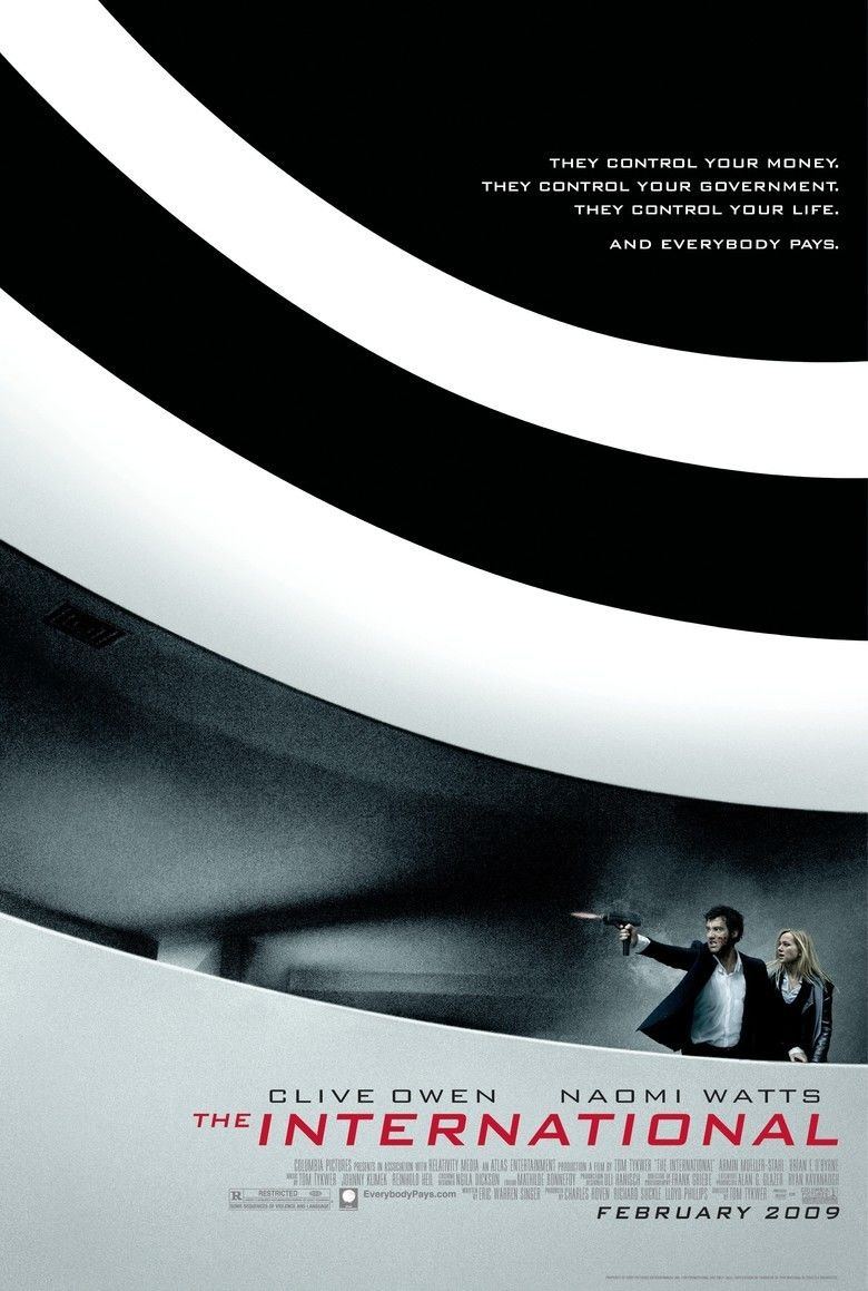 The International (2009 film) movie poster