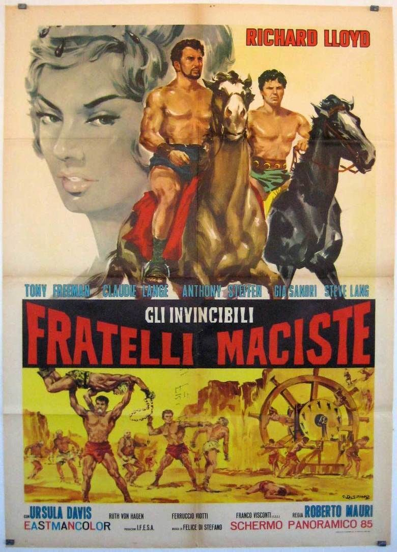 The Invincible Brothers Maciste movie poster