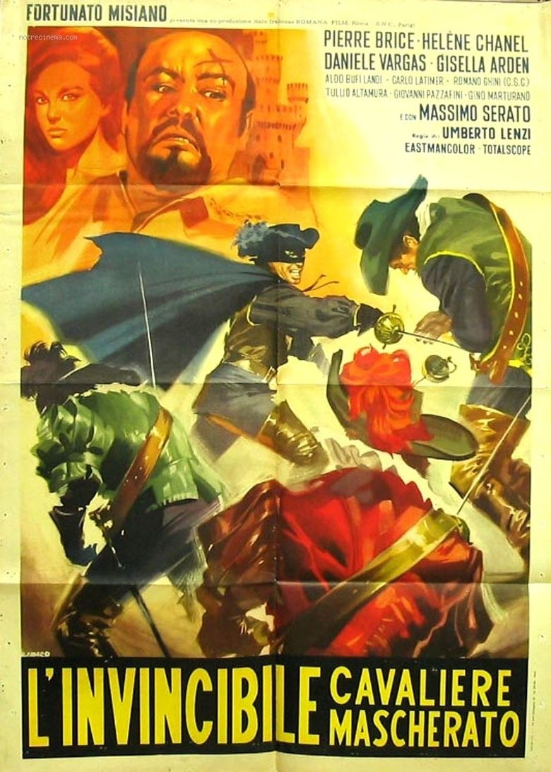 The Invincible Masked Rider movie poster