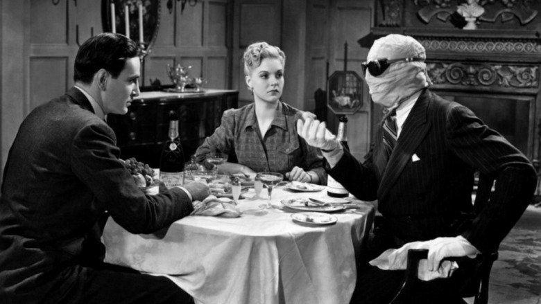 The Invisible Man Returns movie scenes