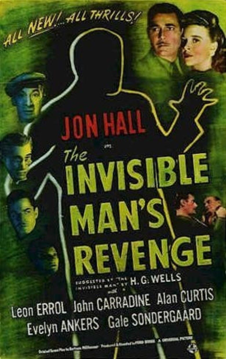 The Invisible Mans Revenge movie poster