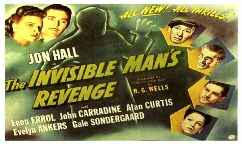 The Invisible Mans Revenge movie scenes