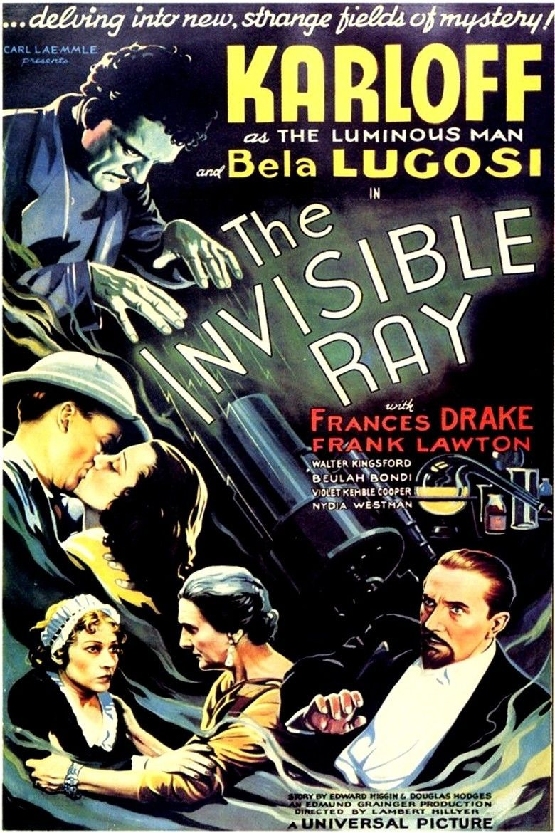 The Invisible Ray (1936 film) movie poster