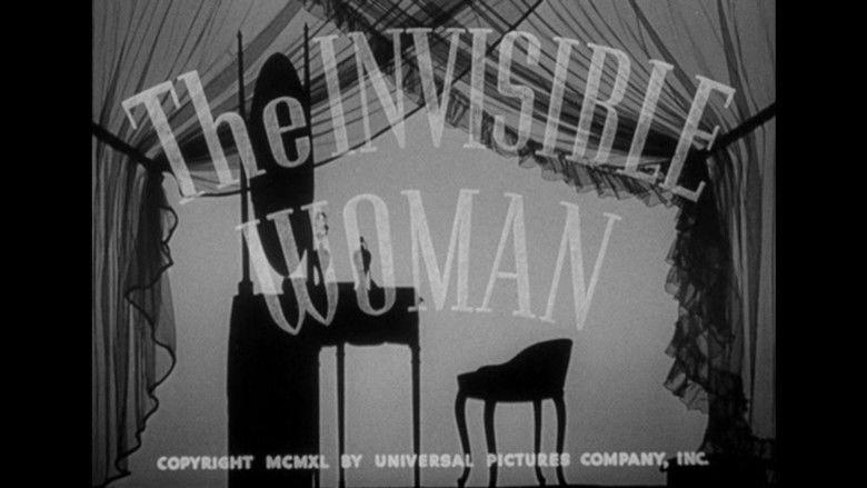 The Invisible Woman (1940 film) movie scenes
