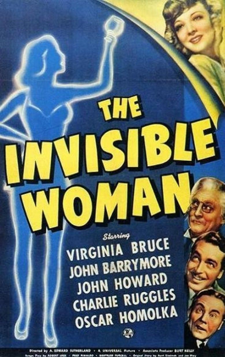 The Invisible Woman (1940 film) movie poster
