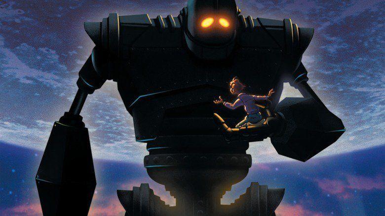 The Iron Giant movie scenes