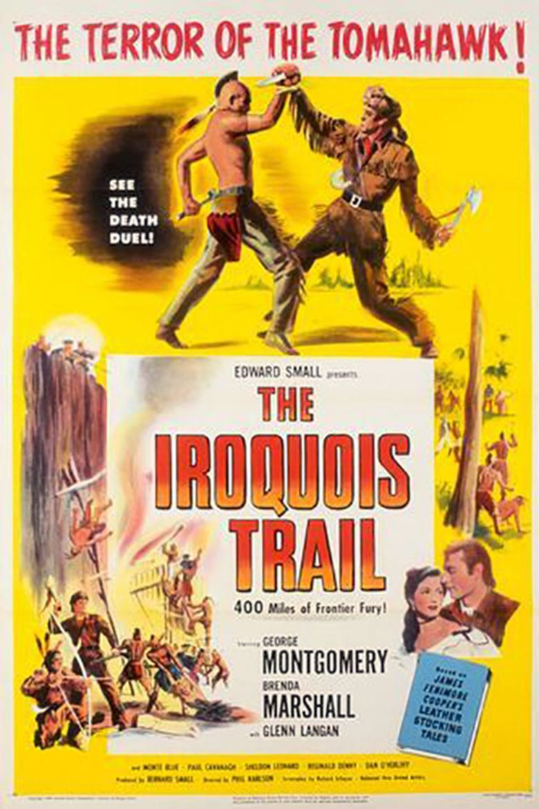The Iroquois Trail movie poster