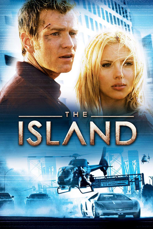 The Island (2005 film) movie poster