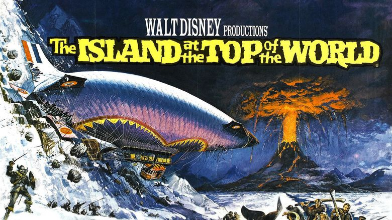The Island at the Top of the World movie scenes