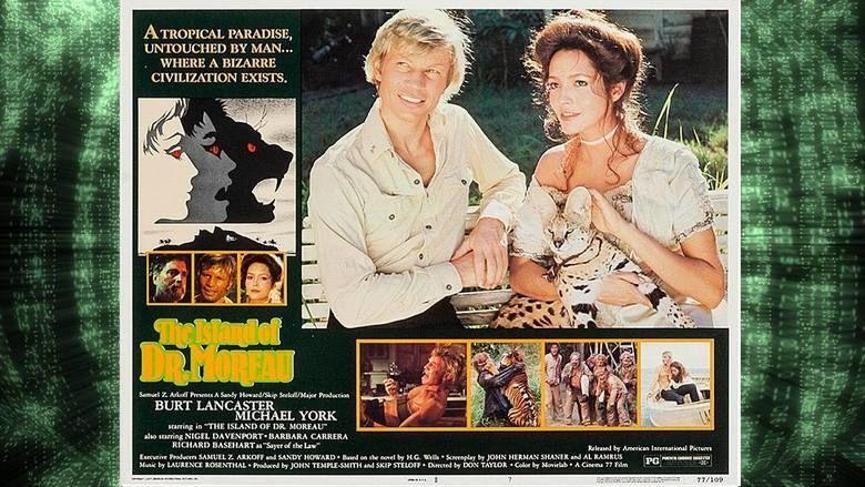 The Island of Dr Moreau (1977 film) movie scenes