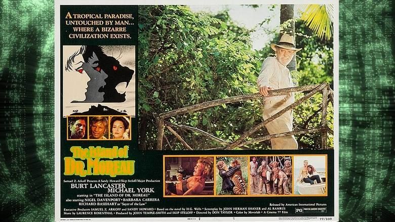 The Island of Dr Moreau (1977 film) movie scenes