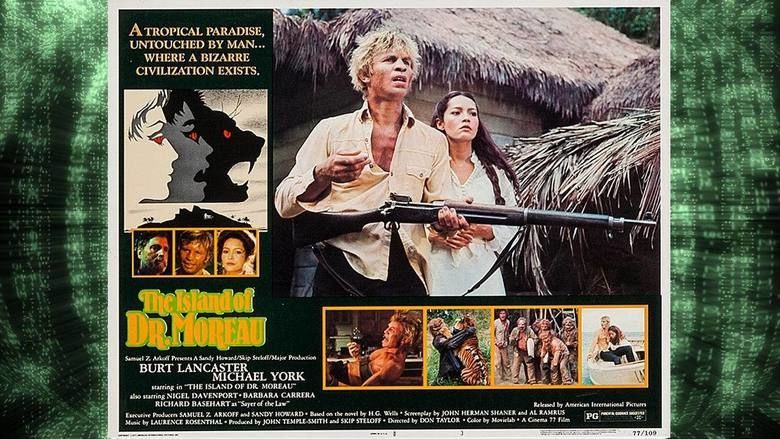 the island of dr. moreau full movie 1977